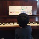 リトミックからピアノ導入へ